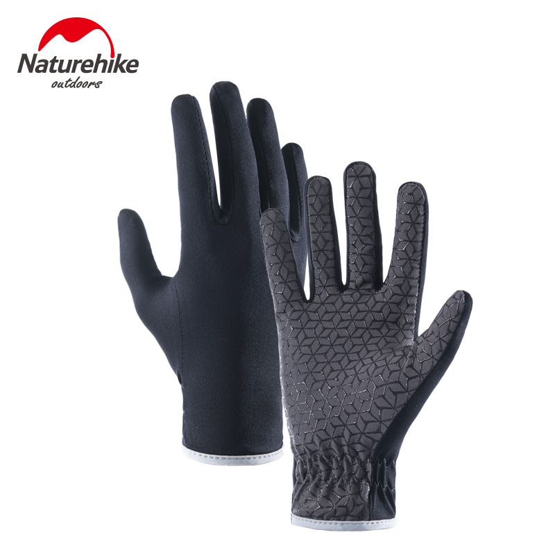 NH Ranger summer thin all-finger anti-slip gloves mens and womens outdoor running sports mountaineering bike ride touch screen