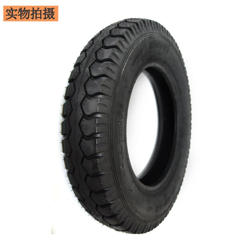 Import 4.50-12 electric vehicle with inner tyre and inner tyre of tricycle with outer tyre and motorcycle tyre thickening package