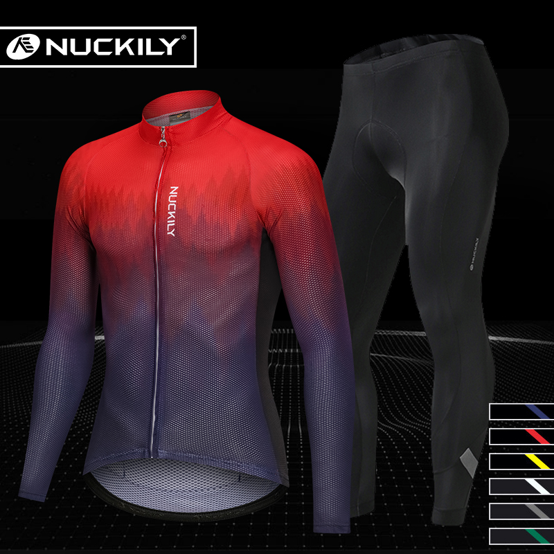 Competitive Spring and Autumn Cycling Wear Sunscreen Suit for Men Long Sleeves Summer Mountain Highway Cycling Trousers