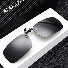 Myopia glasses sunglasses clamp plate sunglasses driver driving tide night vision clip clip polarisers men and women