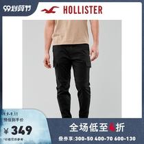 Hollister Spring 2020 New Trend Vanguard Elastic Slim Pants Men 303878-1