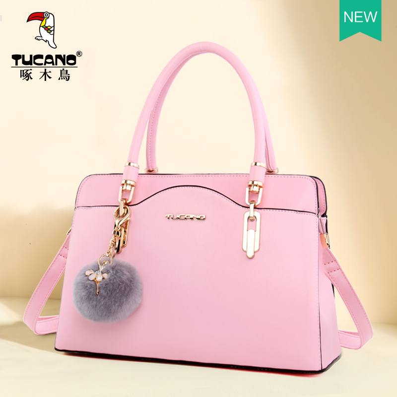 Woodpecker bag female 2018 new fashion shoulder bag autumn temperament Messenger bag lady bag handbag female