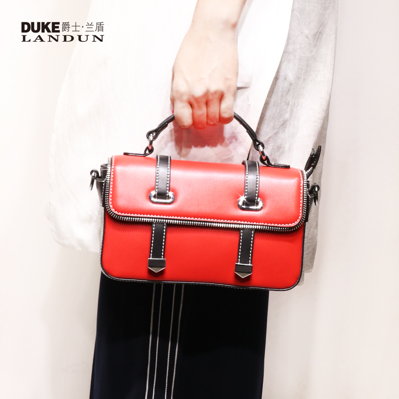 Female bag handbag female Japanese and Korean fashion trend shoulder Messenger bag 2018 new leather portable handbag small bag