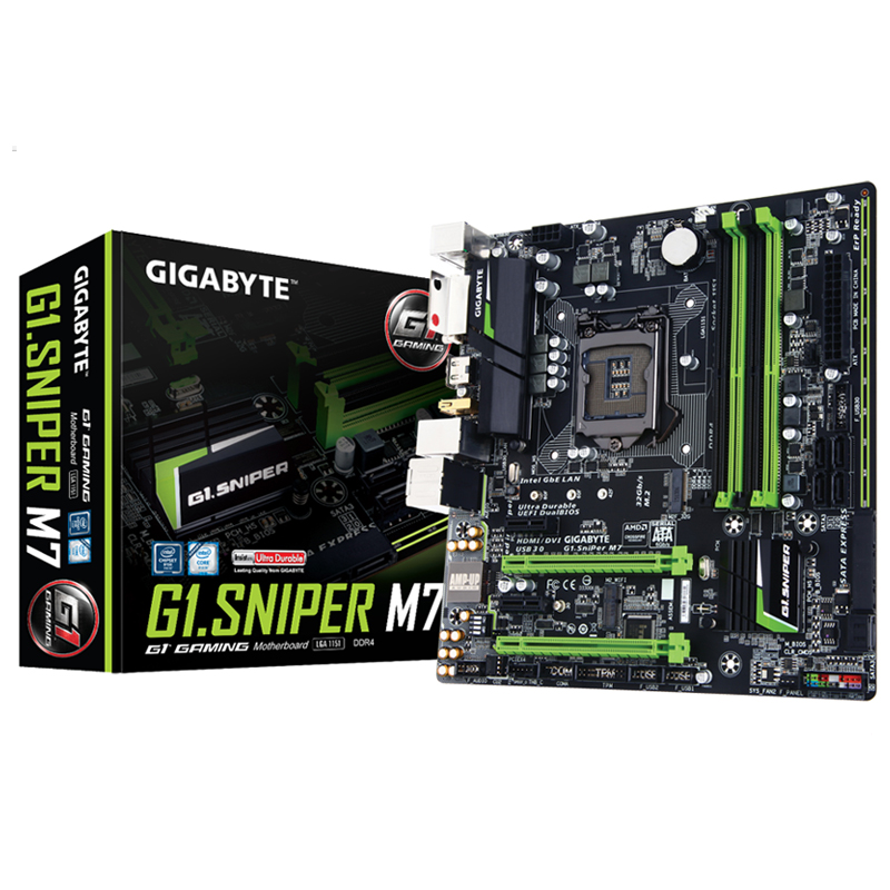 Gigabyte/Gigabyte G1.Sniper M7 Magic Motherboard B150 Chip 1151 DDR4 Motherboard