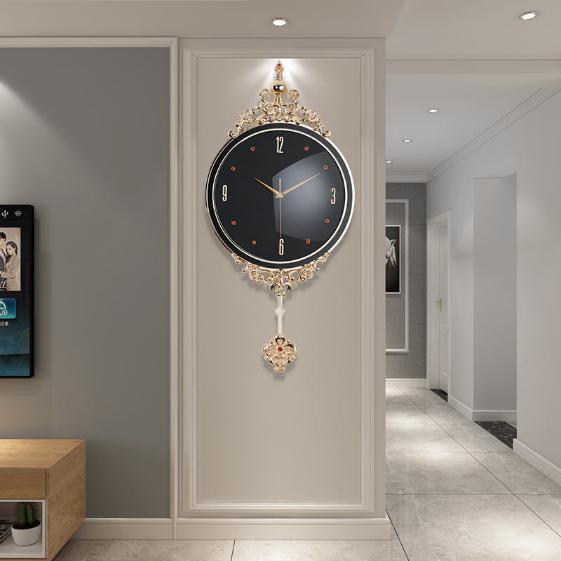 Nordic Clocks and Watches Living Room Modern Simple Clocks Lightweight and Luxury Creative Fashion Household Atmospheric Decorative Quartz Clocks
