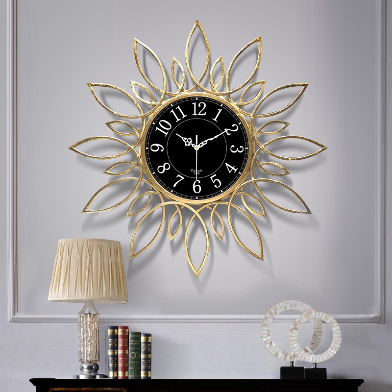 Clocks, Watches, Household Fashion, Modern Lightweight and Luxury Watches, Individual Art, Atmospheric European Decorative Clocks