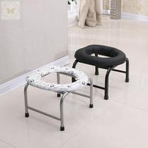 Squat toilet seat Household folding non-slip pregnant woman old man toilet seat stool stool simple convenient and practical home