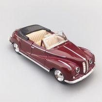 Web celebrity alloy car model BMW classic car model double door return force simulation car childrens toy presents