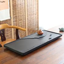 Natural Wujin stone tea tray with modern SLATE light luxury stone separate tea sea tea table dry bubble table small stone plate