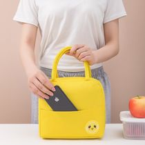The new poop bag student lunch bag insulation bag office workers carrying Oxford cloth when with picnic ice pack