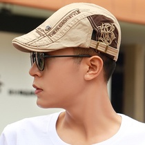 New fashion men and women beret spring and summer middle-aged outdoor Korean version of the trend sun shade cap