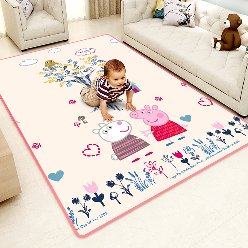 Children crawling pad thickening baby baby climbing pad household living room children frothing mat damp proof carpet