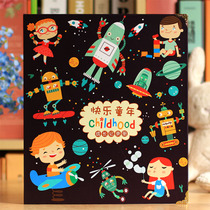 Kindergarten Primary School Pupil Growth Manual Children's Diy Photobook Hand-Recorded Archives Baby Growth Memorial