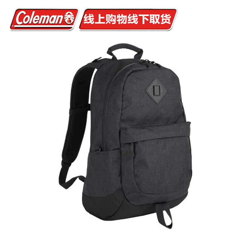 [The goods stop production and no stock]Coleman Kohler waterproof men's and women's PU fashion travel casual multi-function Korean outdoor backpack