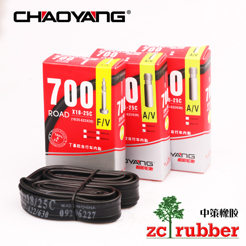Chaoyang Tire Road Bicycle Inner Tube 700*18 20 22 25 C 26 inch 700 C Dead Flying Inner Tube