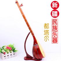 Xinjiang native ethnic musical instrument Uyghur Tutar model ornaments hand-made Xinjiang hotel decorations
