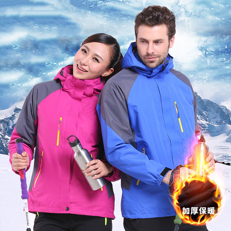Daily special outdoor stormsuit men's and women's thick autumn and winter lovers' windproof coat waterproof and thickened Tibetan mountaineering suit