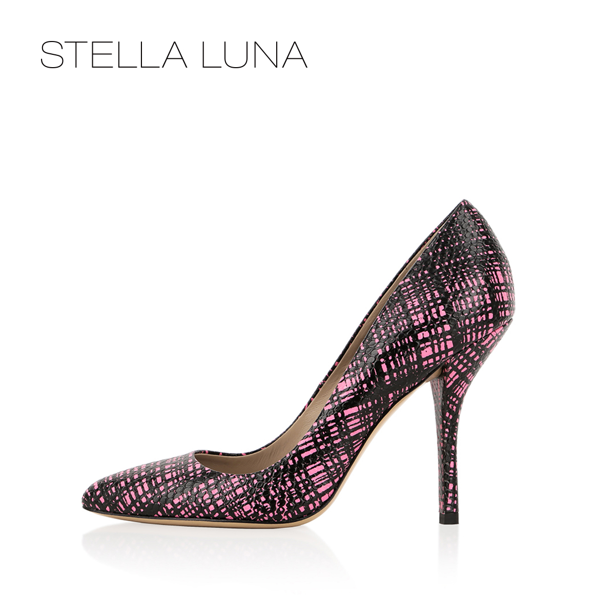 STELLA LUNA Women's Shoes Fashion Fine-heeled Shoes in Spring and Summer