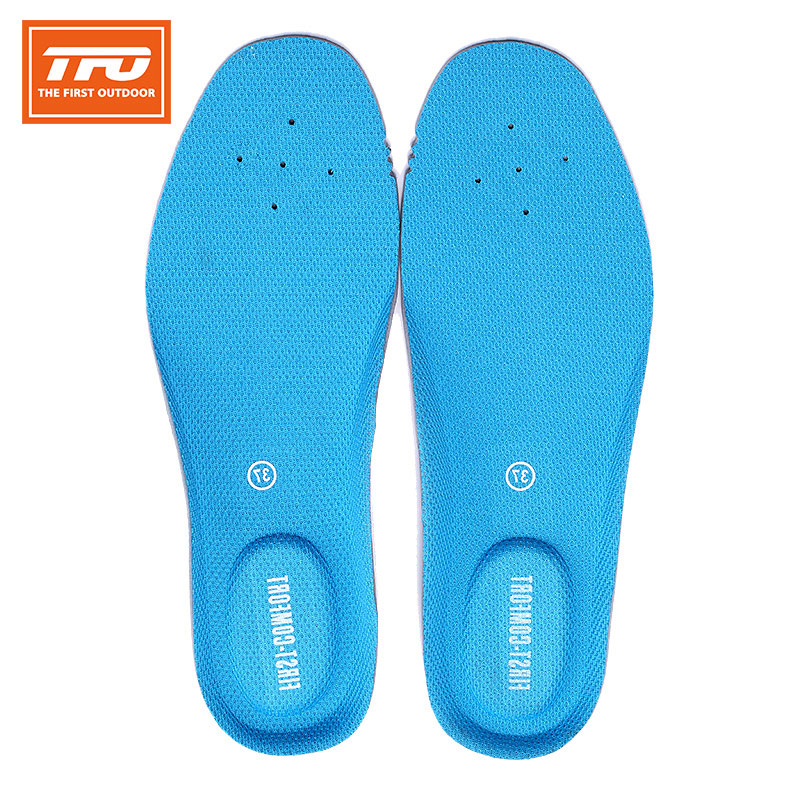 [The goods stop production and no stock][The goods stop production and no stock]American TFO insoles women sweat perspiration deodorant air circulation insole increased sports shock cushions