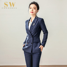 Suit suit, feminine temperament, fashionable dress, British style, autumn and winter self-cultivation goddess work clothes, high-end new type of tooling
