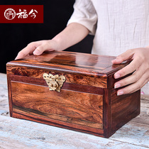 Great Red Acid Branch Jewelry Box Rosewood Jewelry Reception Box