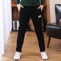Мальчики спортивные брюки весна осень модели средних детей осень зима случайные брюки 12 мальчиков брюки плюс бархат 15 лет детские брюки