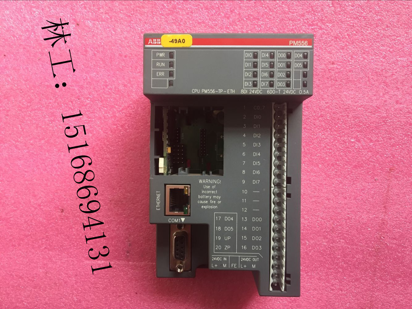 original used ABB PLC PLC AC500-eCo CPU PM556-TP-ETH Sale