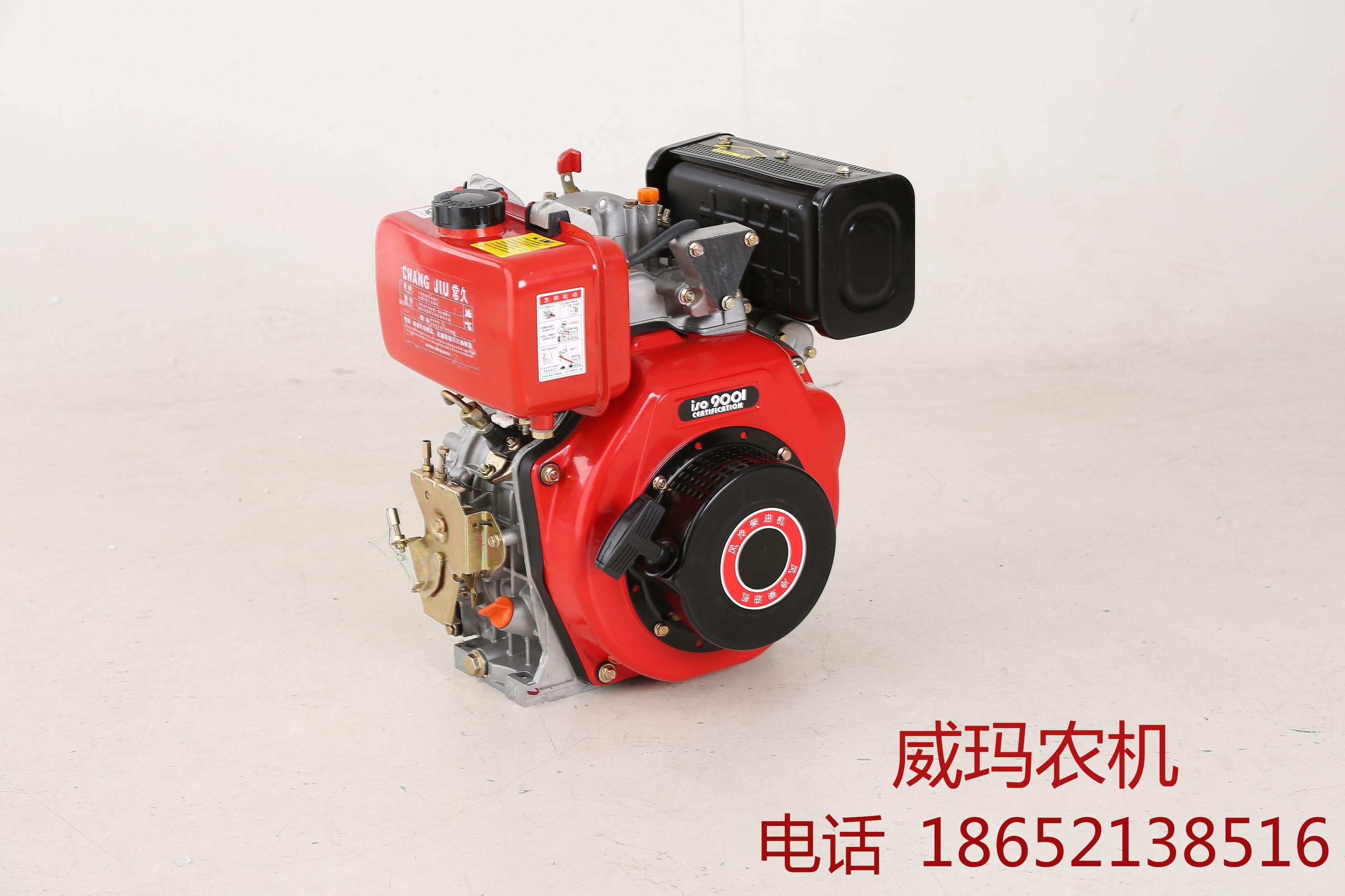 Micro tiller air-cooled diesel engine 170F head 173F diesel engine 2KW generator power 5 6 horsepower head