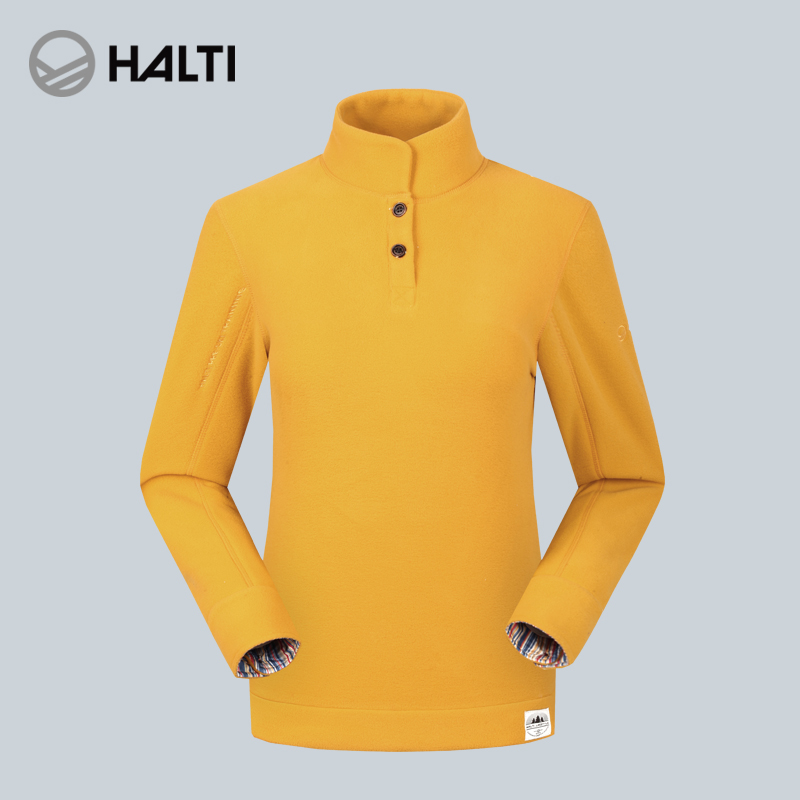 HALTI / Hardi autumn and winter men and women head warm breathable skin fleece clothing H100-0051
