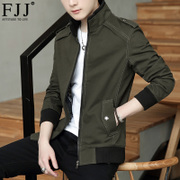 The spring and autumn jacket 2017 male new handsome youth slim jacket s casual thin jacket fad clothes