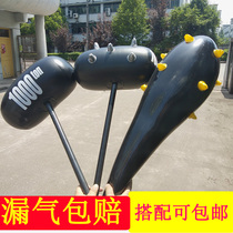 Inflatable Toy Hammer Large Inflatable Rod Meteor Hammer with Stirred Wolf Tooth Bar Card Air Ball Inflatable Hammer Spreading Source