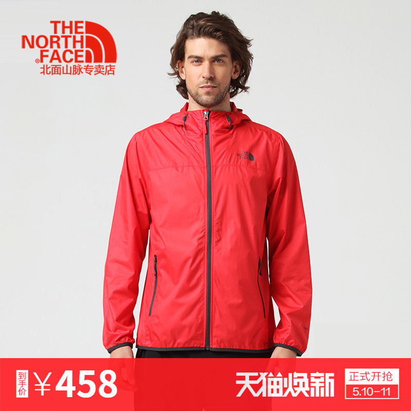 TheNorthFace North face 18 spring and summer classic men's windproof breathable packed hiking skin clothes 2XTC