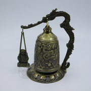 Special offer shipping Home Furnishing decorative antique bronze instrument chime bell exquisite gift auspicious monk