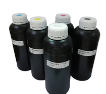 La France a importé des matières premières UV encre Ricoh Seiko Konica Toshiba buse plaque rouleau impression UV encre