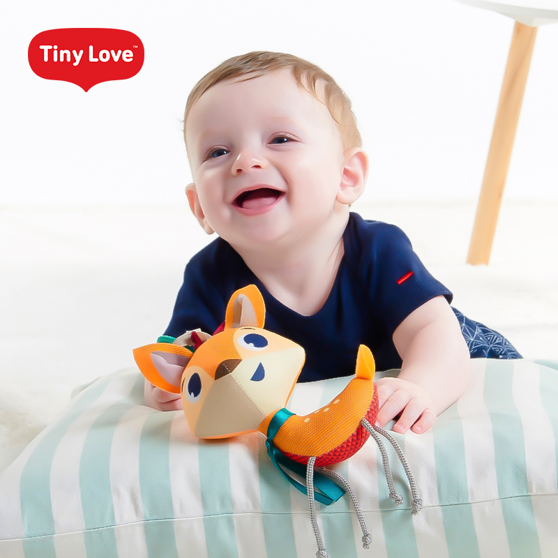 Tinylove baby comfort doll can bite 0-1 year old baby 6 months plush cartoon toys