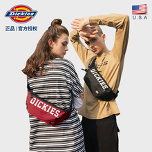 Dickies tide handbag, men's bag, college student fashion casual lady, chest bag, shoulder bag C012