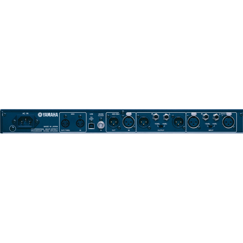 [The goods stop production and no stock]Yamaha/Yamaha SPX2000 Professional Audio Digital Effect Digital Reverb KTV Processor