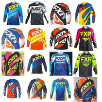 2019 FXR long-sleeved quick-dry outdoor off-road racing suit T-shirt male loose breathable cycling casual riding clothing
