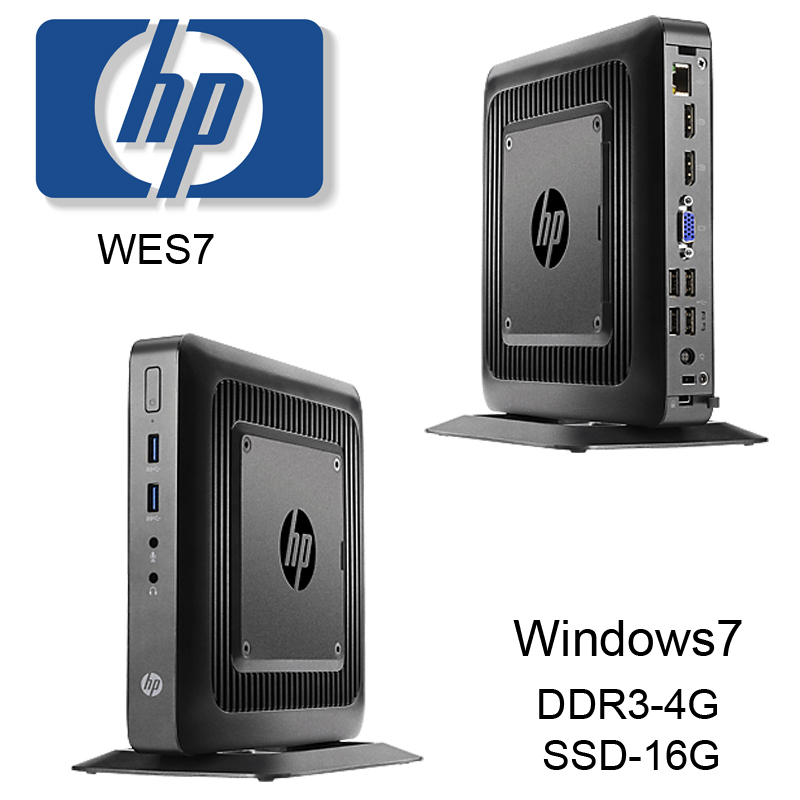 New HP Thin Client T520 PC Host RDP8 Desktop Cloud Terminal WES7VMware PCOIP
