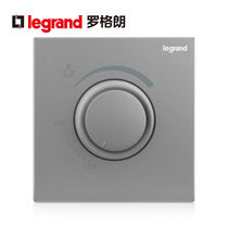 TCL Rogeland switch socket panel escape depth-of-the-sky sand silver dizing switch non-pole adjustable controlled power type 86