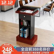 Lecture table Welcome table Lecture table Classroom podium table Lectern Small reception desk Podium Shopping guide desk Consultation desk