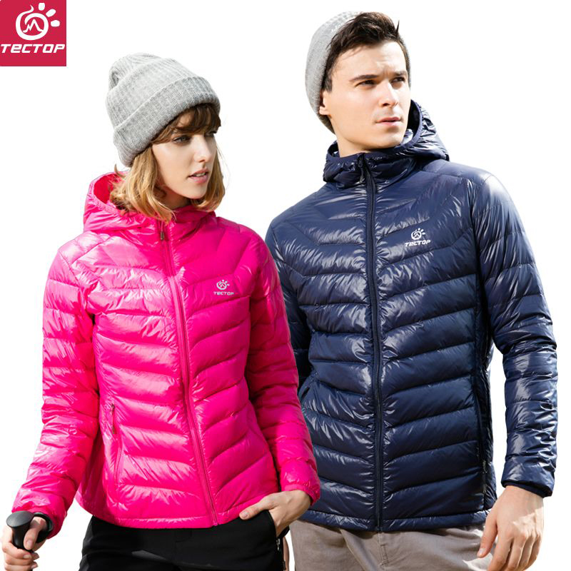 Explore the outdoor couple light down jacket women short paragraph 2017 new down clothes men's autumn and winter down jacket