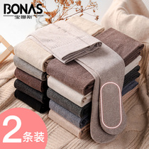 Baonasi leggings socks autumn and winter with velvet stockings women spring and autumn models thin cashmere thin models in thick pantyhose slimming legs