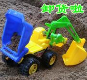 Shipping sit ride large hook machine bulldozer project car toy car for children can hook machine engineering vehicle 7 excavator