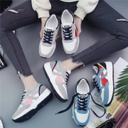 Korean soft sister sport shoes, running shoes, ulzzang shoes Harajuku wind in autumn and winter all-match students leisure shoes