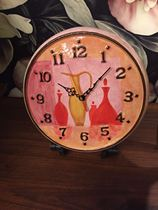 1 art exports to the United States hand-painted ceramic wall clock