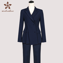 Real estate consultant new set is high-end sales department hotel suit work clothes female temperament professional office autumn and winter