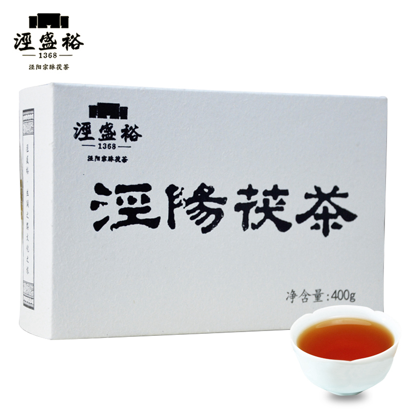 Jingshengyu Fujia Tea Jingyang Fujian Brick Tea Jinhua Special Black Tea Shaanxi Special Tea Gift Box 400 g package