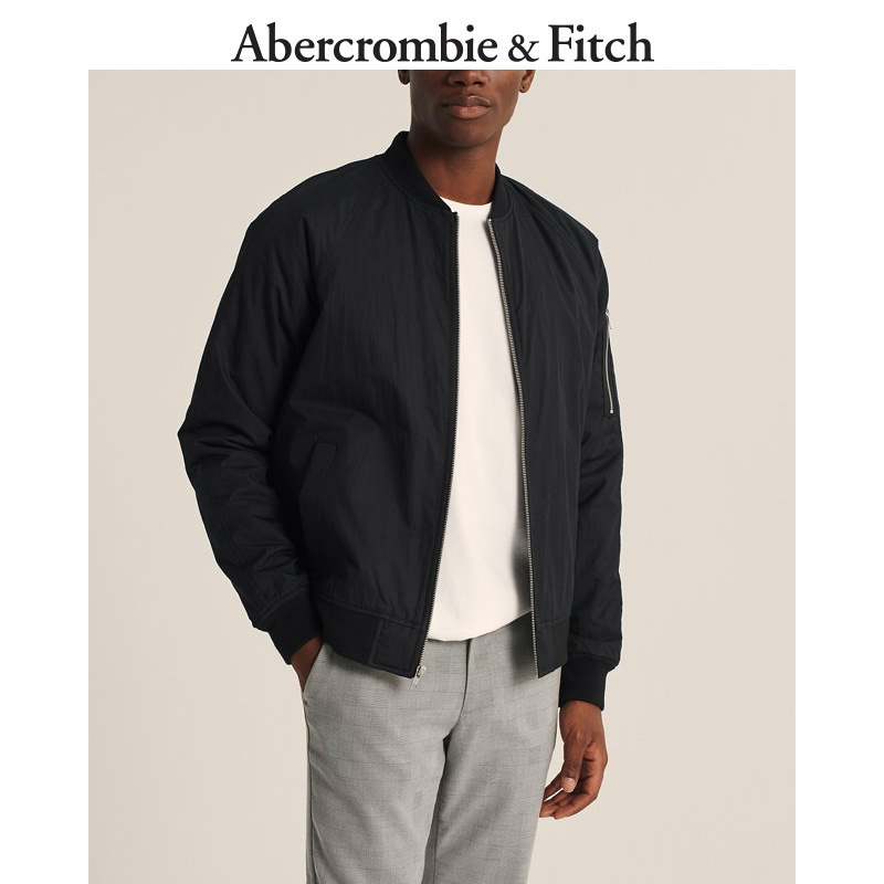 Abercrombie & Fitch men's military style pilot jacket 303771-1 AF