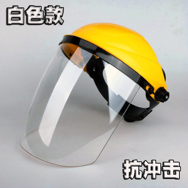 Windshield Hairdressing Motorcycle Face Shield Transparent Face Shield Full Face Riding Welder Electric Cap Rain Protection